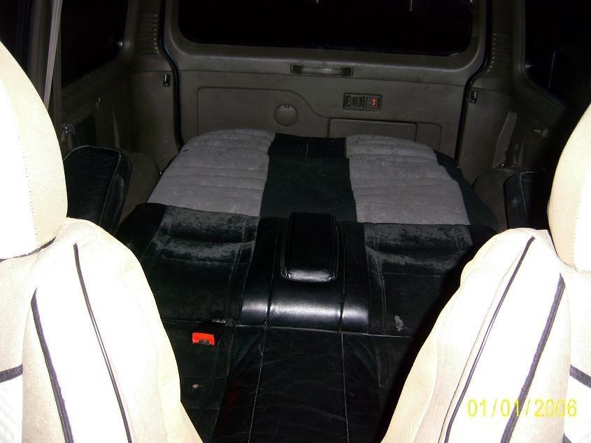 Спальник в паджеро 2 своими руками