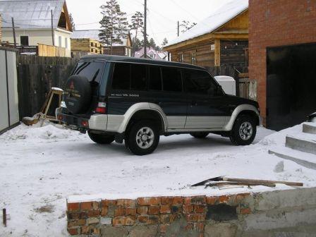 Mitsubishi Pajero 1995 - отзыв владельца