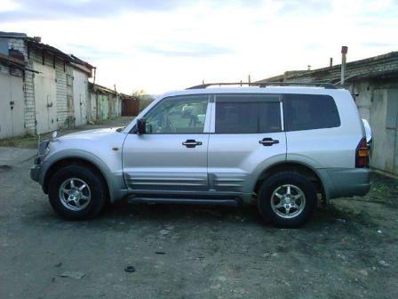 Mitsubishi Pajero 2003 - отзыв владельца