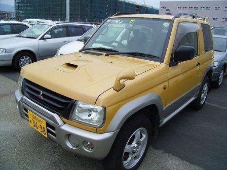 Mitsubishi Pajero Mini 1998 - отзыв владельца
