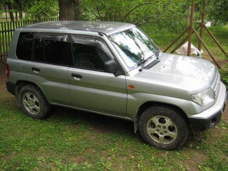 Mitsubishi Pajero Pinin 1999 - отзыв владельца