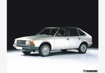 Линейные размеры проемов, основных элементов кузова автомобиля, контрольные точки, зазоры кузова Москвич 2141.