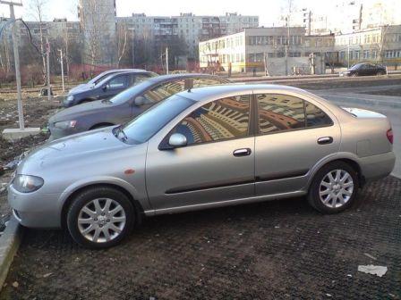 Nissan Almera 2003 - отзыв владельца