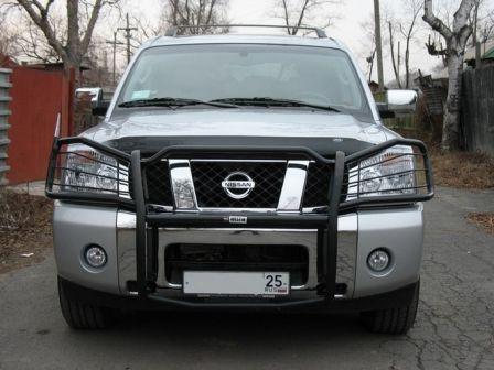 Nissan Armada 2005 - отзыв владельца