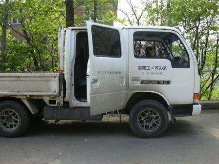Nissan Atlas 1992 - отзыв владельца