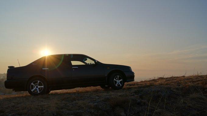 Nissan Bluebird.