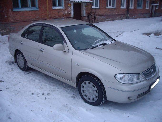 Nissan Bluebird Sylphy.