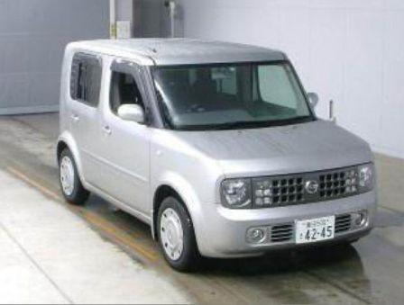 Nissan Cube 2004 - отзыв владельца
