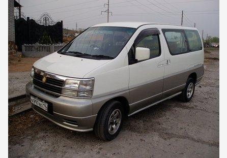 Nissan Elgrand 1997 отзыв