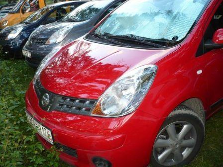 Nissan Note 2007 - отзыв владельца