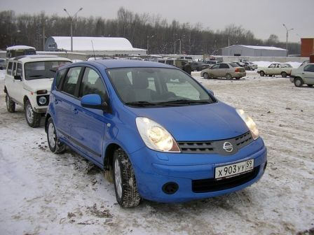 Nissan Note 2008 - ����� ���������