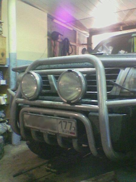 Nissan Patrol 1998 - отзыв владельца