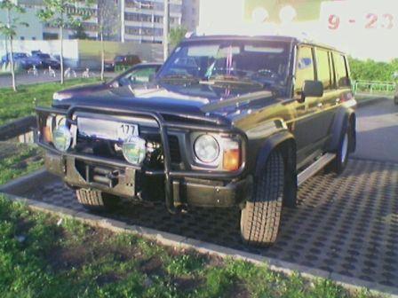 Nissan Patrol 1991 - ����� ���������