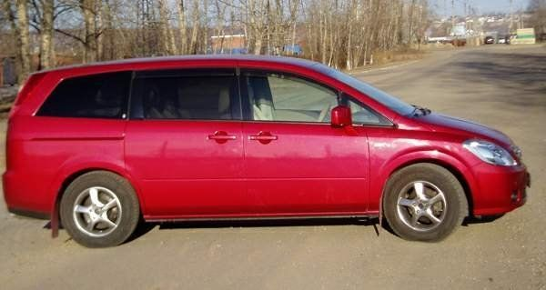 Nissan Presage 2003 - отзыв владельца