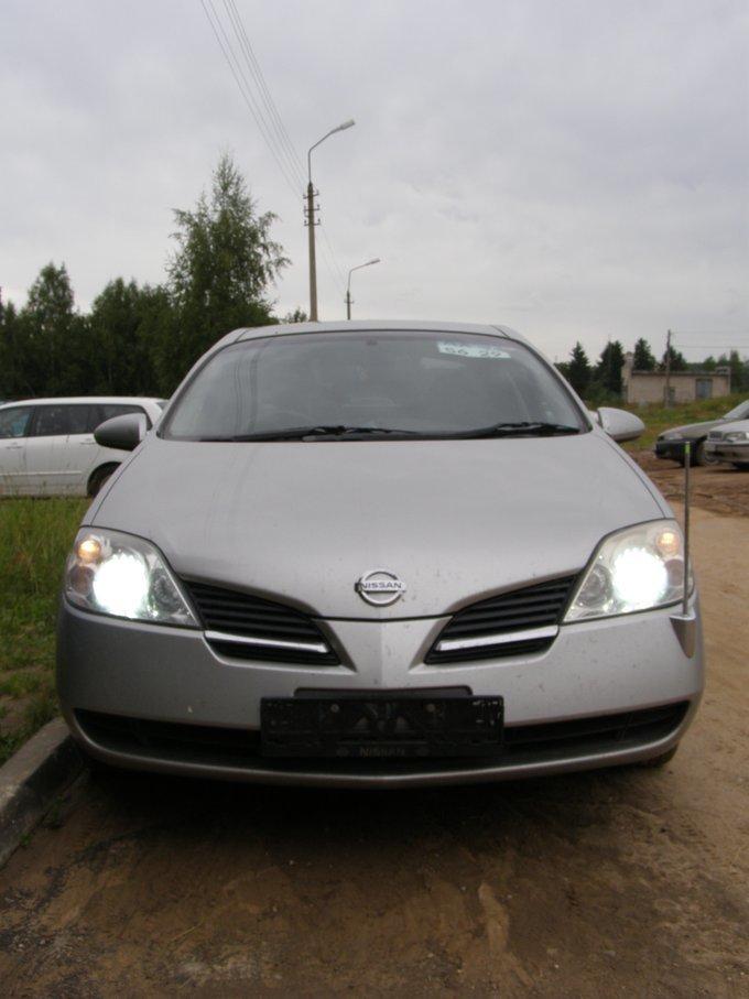 Nissan Primera.