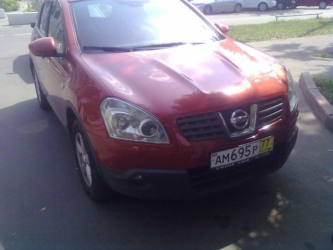 Nissan Qashqai.