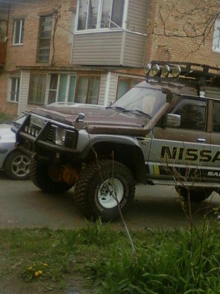 Nissan Safari 1996 - отзыв владельца