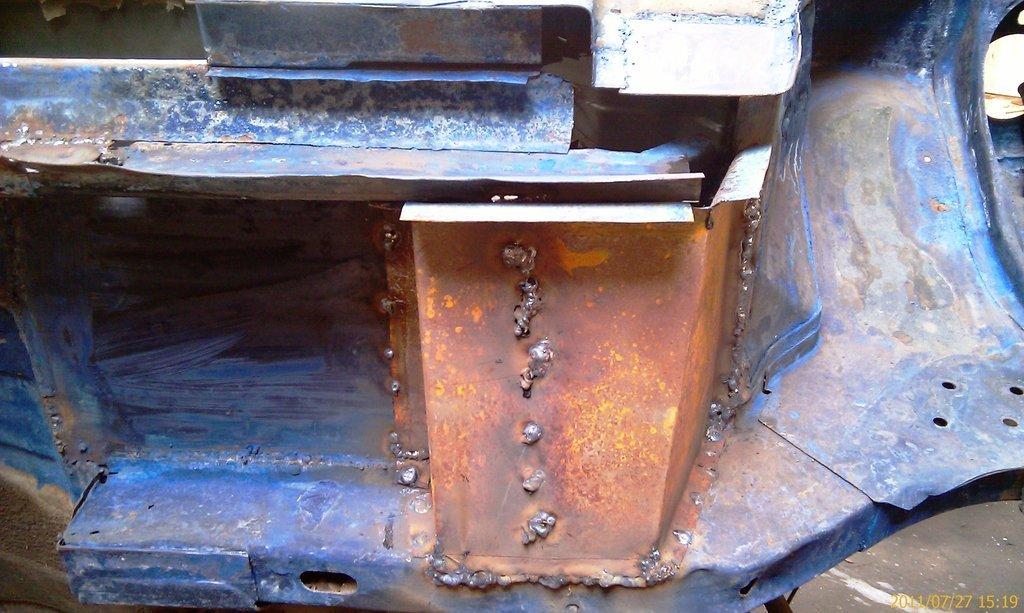 Днище автомобиля ремонт своими руками