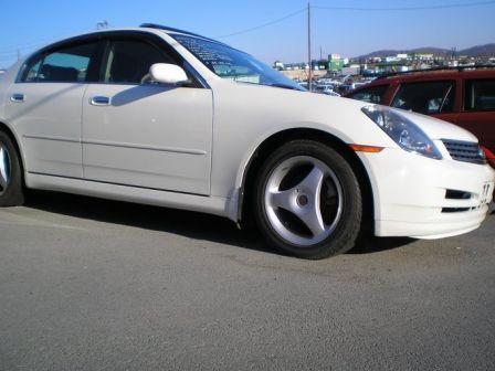 Nissan Skyline 2002 - отзыв владельца