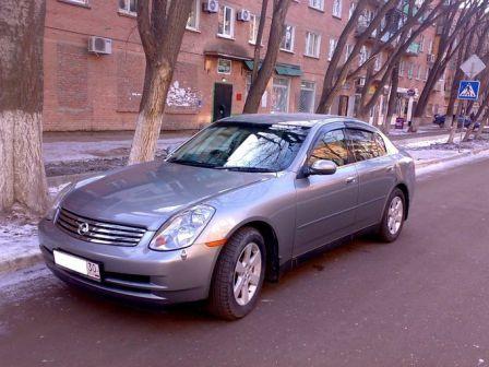 Nissan Skyline 2004 - отзыв владельца