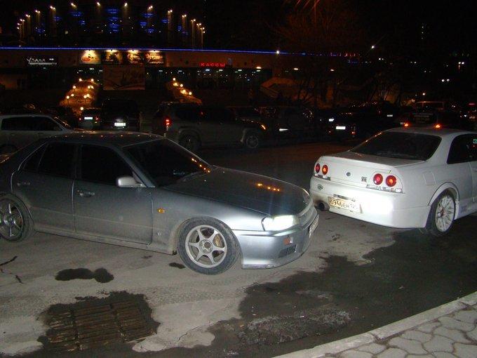 Nissan Skyline GT-R.