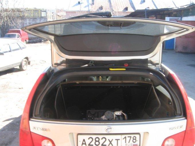 Nissan Stagea.