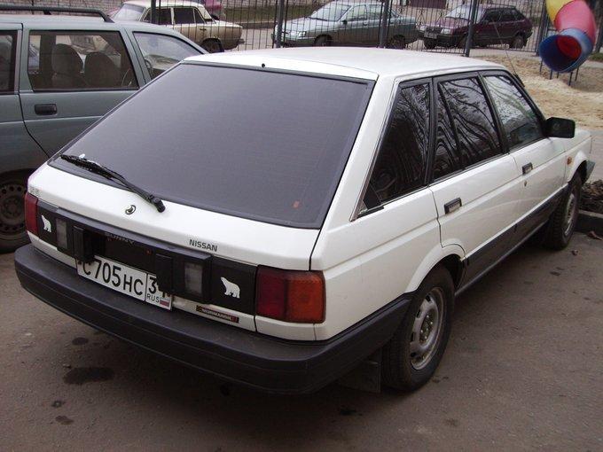nissan sunny 1987 отзывы
