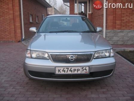 Nissan Sunny 2002 - отзыв владельца