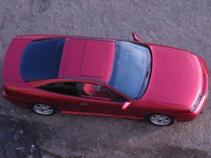 Opel Calibra.