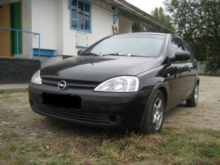 Opel Corsa 2001 - отзыв владельца