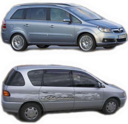 Opel Zafira 2007 - ����� ���������