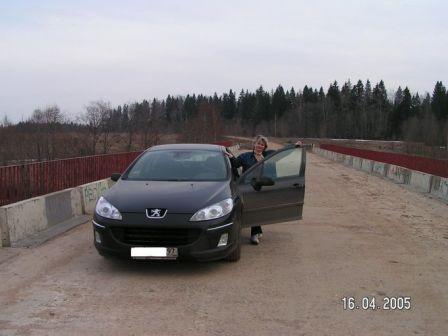 Peugeot 407 2004 - отзыв владельца