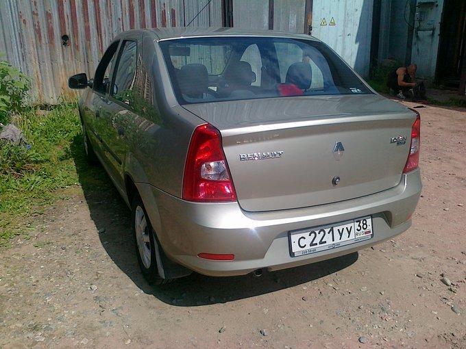 Renault Logan.