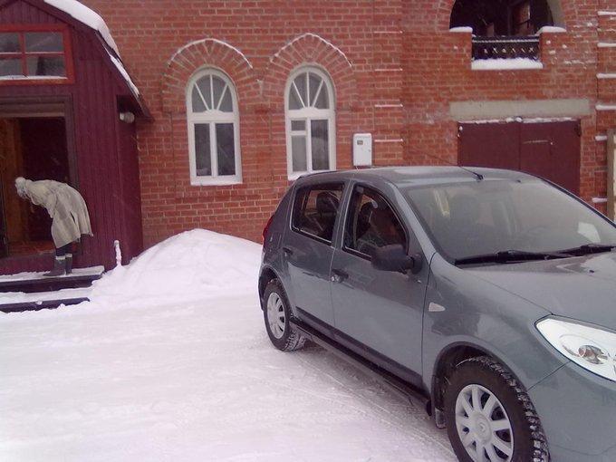 Renault Sandero.