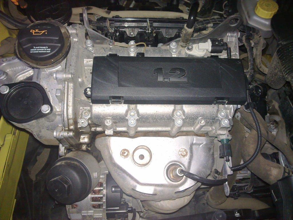 Замена двигателя более шкода