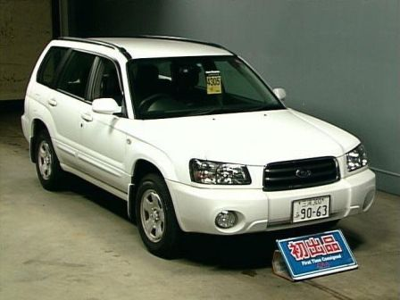 Subaru Forester 2002 - ����� ���������