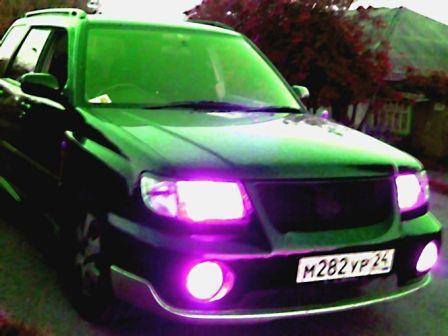 Subaru Forester 1999 - отзыв владельца