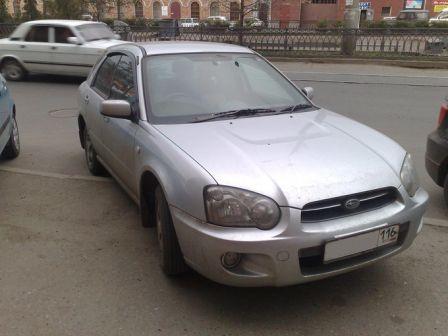 Subaru Impreza 2004 - отзыв владельца