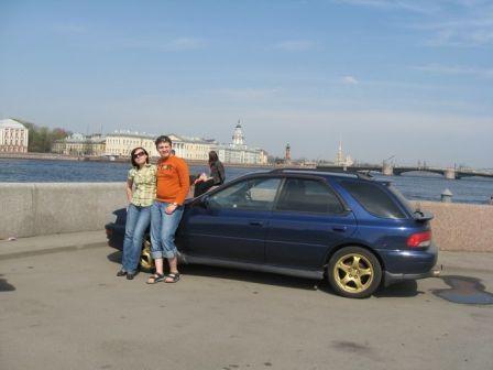 Subaru Impreza 1997 - отзыв владельца