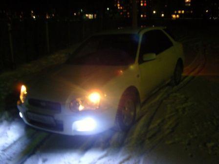 Subaru Impreza 2003 - отзыв владельца