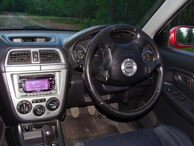 Subaru Impreza WRX.