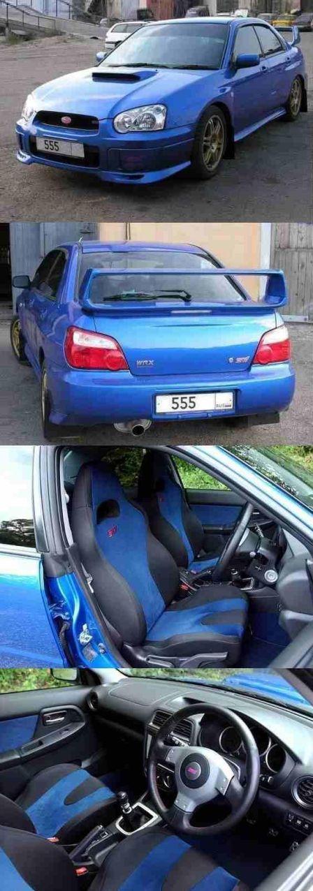 Subaru Impreza WRX 2003 - отзыв владельца