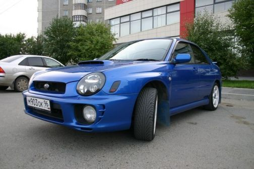Subaru Impreza WRX 2001 - отзыв владельца