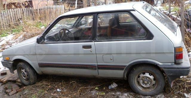 Subaru Justy 1986, бензин, 1300 куб.см - отзыв владельца