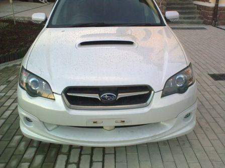 Subaru Legacy B4 2003 - отзыв владельца