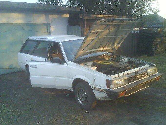 Subaru Leone.