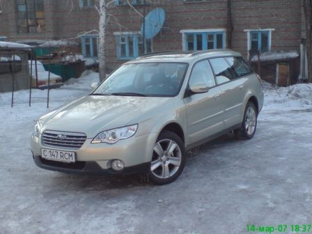 Subaru Outback 2006 - отзыв владельца