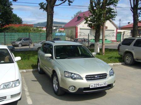 Subaru Outback 2003 - ����� ���������