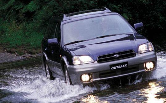 Subaru Outback 2001 - отзыв владельца