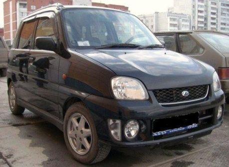 Subaru Pleo 2001 - ����� ���������